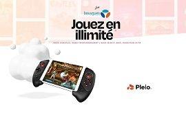 Pleio : un service de cloud gaming pour les abonnés 5G de Bouygues Telecom
