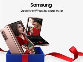 Samsung lance ses coffrets cadeaux de Noël, jusqu'à 20% de remise immédiate !