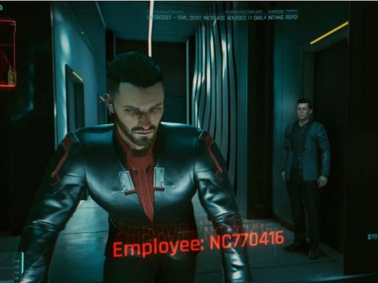 Elon Musk dans Cyberpunk 2077 ?