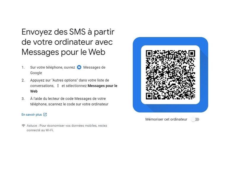 Android Messages : comment envoyer des SMS depuis un PC ou un Mac