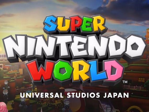 Le premier parc à thèmes Super Mario World ouvrira ses portes en février au Japon