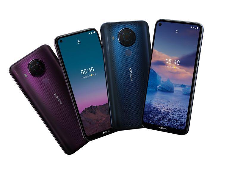 Nokia 5.4 officiel : design moderne et fiche technique classique pour 219€