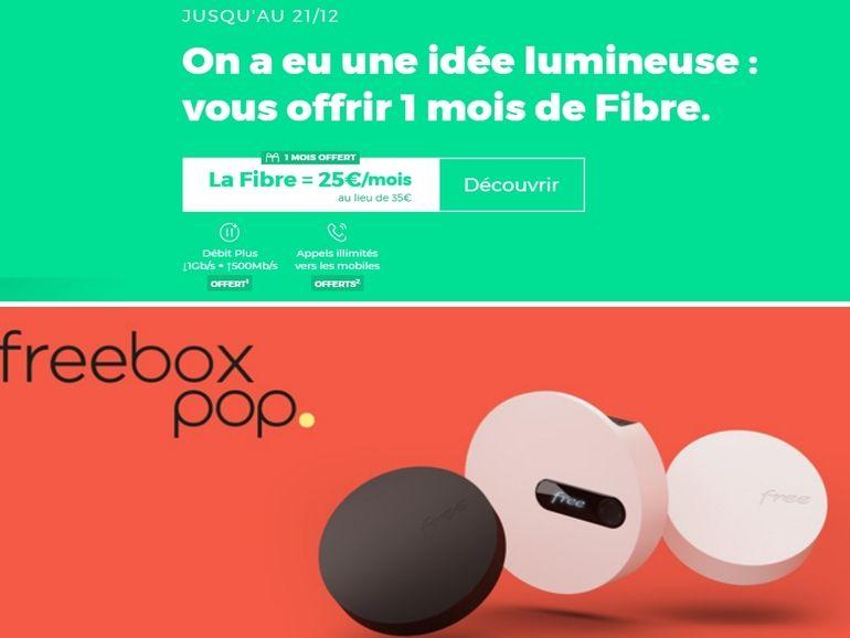 Freebox Pop vs RED Box : le match des box fibre sans engagement