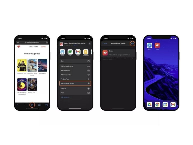Google Stadia arrive progressivement sur iOS
