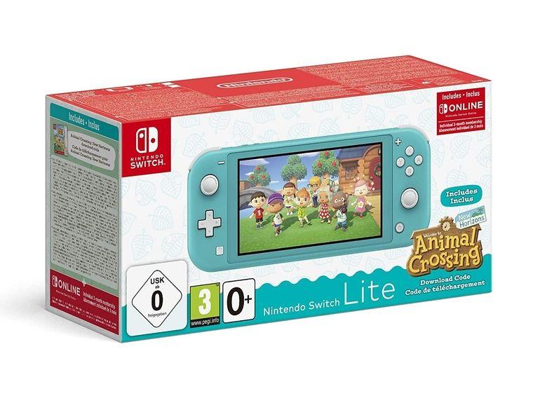 La Nintendo Switch Lite accompagnée du jeu Animal Crossing est à 199,99€ sur Amazon [-26%]
