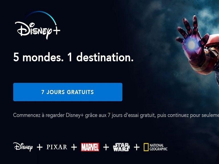 Disney+ : Une semaine de test gratuit ? Le tutoriel pour en profiter (puis résilier si vous voulez)