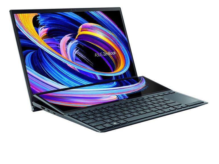 ZenBook Duo 14 (UX482) : prise en main du PC portable double écran 2021 d'Asus