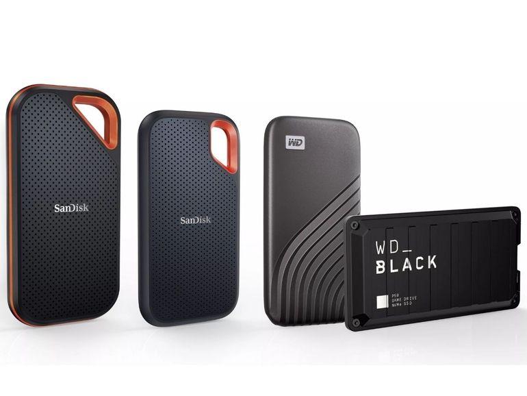 CES 2021 : WD va commercialiser des SSD de 4 To à partir de 680 dollars
