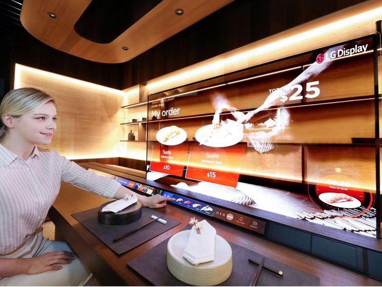 CES 2021 : de nouveaux écrans OLED transparents chez LG
