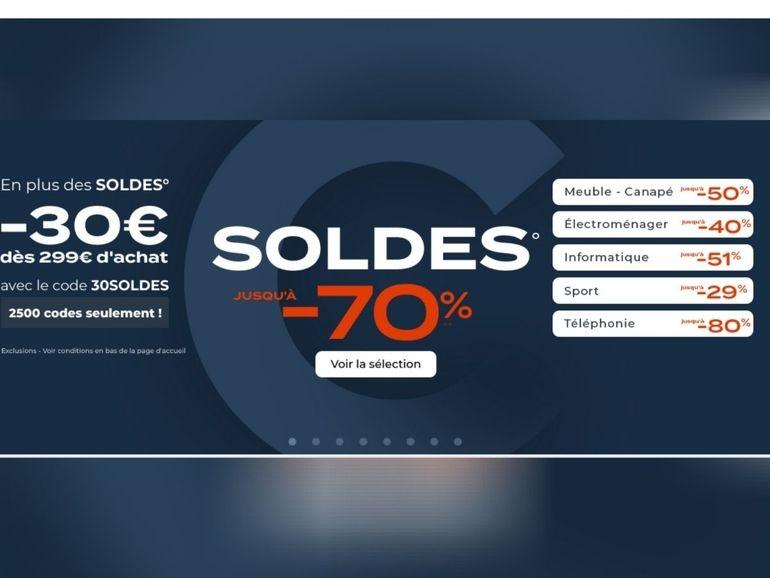 Un code promo Cdiscount pour économiser davantage durant les Soldes