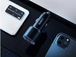 Un chargeur allume-cigare avec 2 ports USB Quick Charge 3.0 à 9,91€