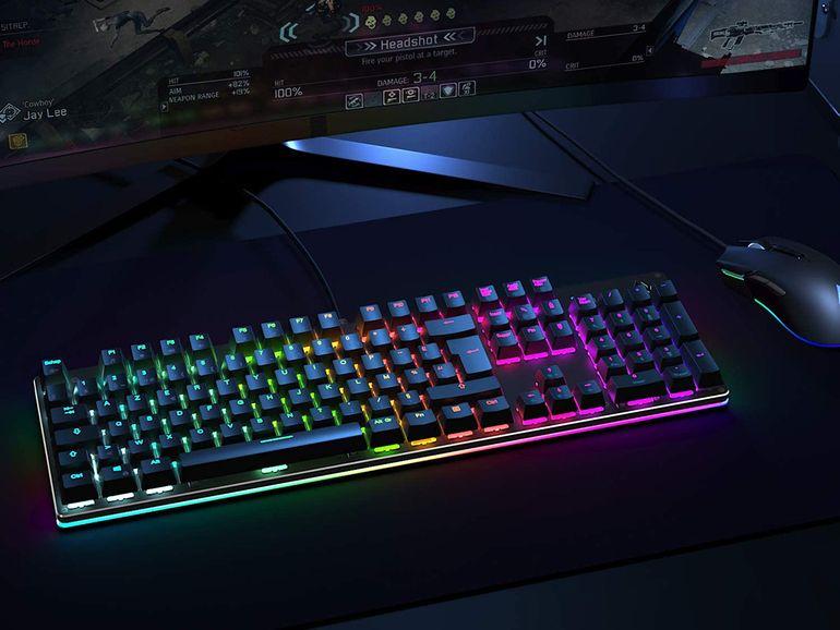 Bon plan : un clavier mécanique Gamer USB avec rétroéclairage RVB à 38,49€