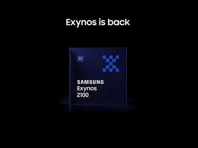 Samsung officialise son SoC Exynos 2100 dédié aux smartphones premium de 2021