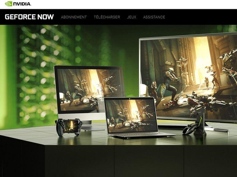 GeForce Now, le service de cloud gaming de Nvidia, est disponible sur Google Chrome