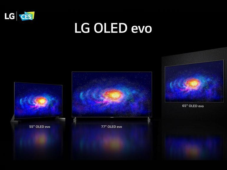 CES 2021 : LG présente des TV OLED plus lumineux et ses LCD QNED à dalles Mini LED