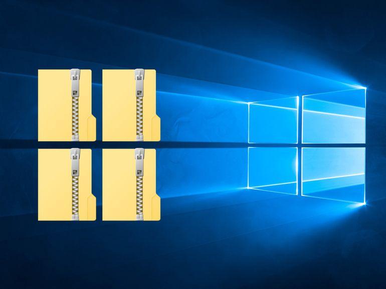 Les meilleurs logiciels pour compresser ou décompresser fichiers et archives