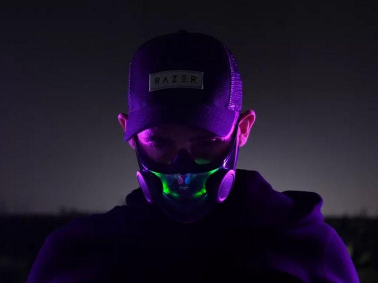 CES 2021 : un masque FFP2 high-tech signé Razer