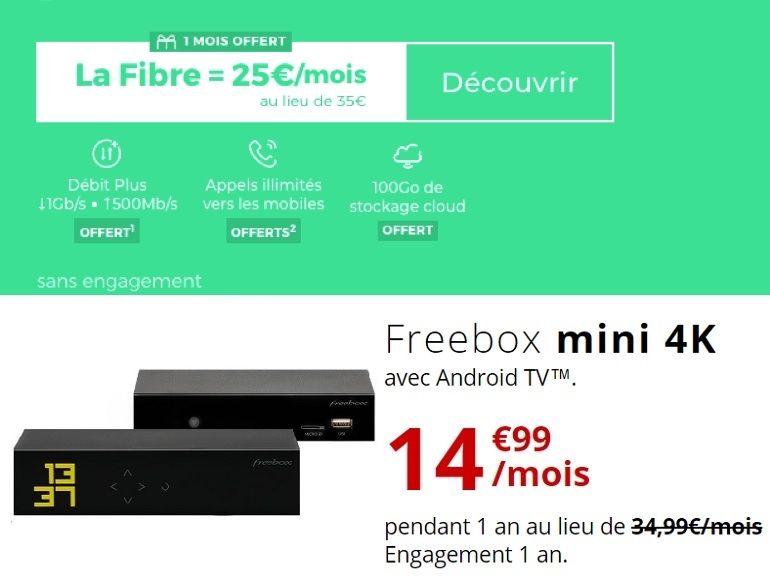 Bon plan fibre : faut-il craquer pour la Freebox mini 4K de Free ou la RED Box de SFR ?