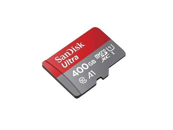La carte mémoire microSDXC Ultra 400 Go est à 49€ sur Amazon [-65%]