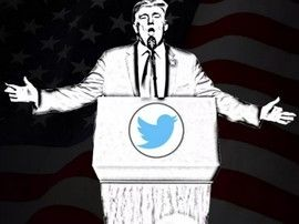 La désinformation aurait chuté suite au bannissement de Donald Trump par Twitter