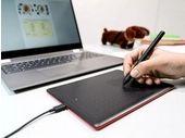 La tablette graphique One by Wacom est compatible avec les Chromebook