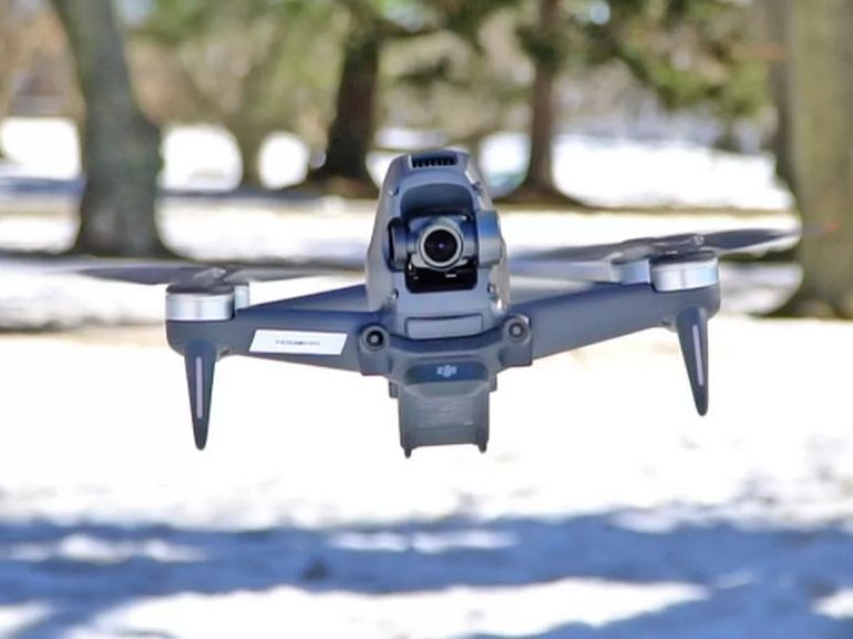 DJI FPV : prise en main du drone
