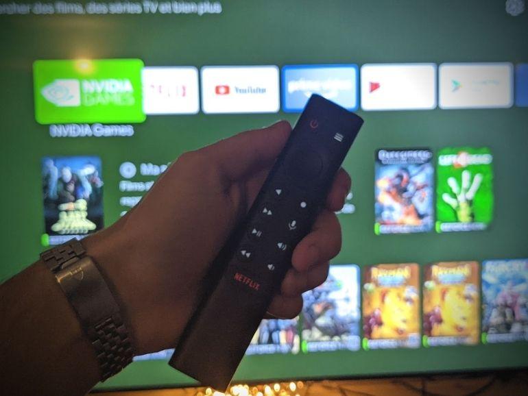 Test - Nvidia Shield TV Pro : une belle machine entre box TV et console de jeu en cloud