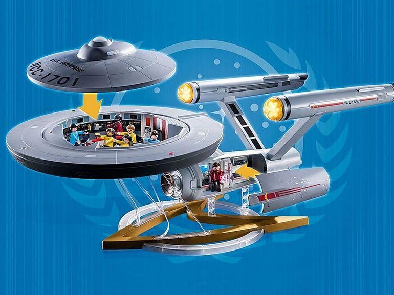 Playmobil fait revivre Star Trek avec une réplique de l'USS Enterprise
