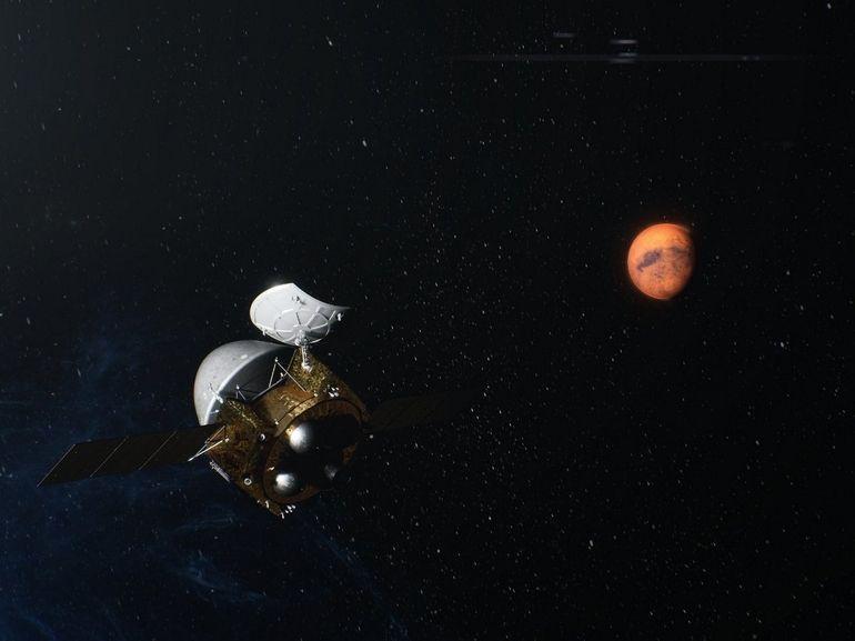 Tianwen-1 : c'est fait, la sonde chinoise est en orbite autour de Mars