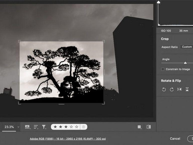 Photoshop fait appel à l'IA pour quadrupler le nombre de pixels d'une photo