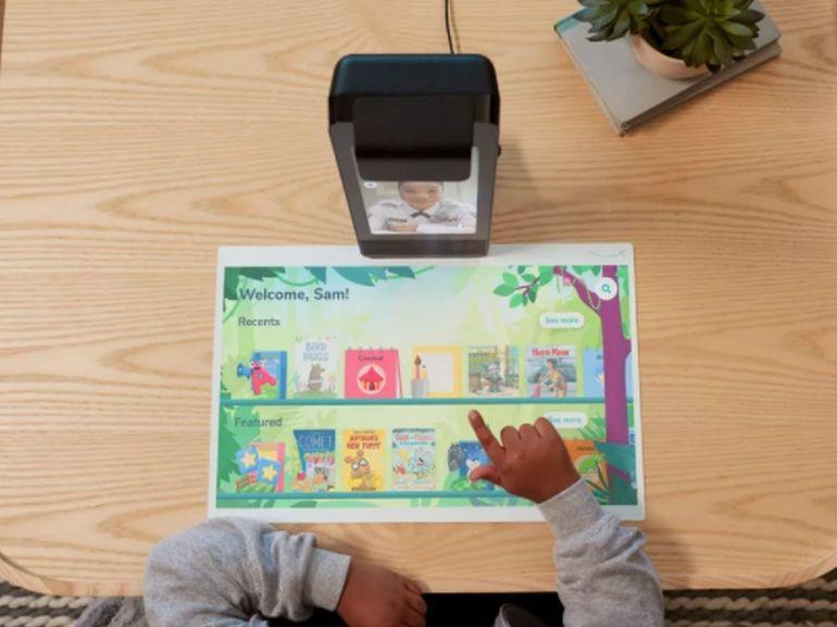 Amazon Glow : un écran connecté pour créer du lien entre les enfants et la famille à distance