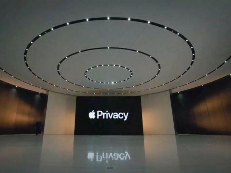 Vie privée : Apple vous permet de voir les données collectées par les applications
