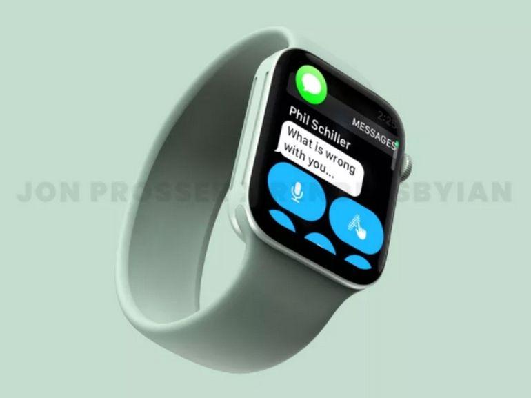 Le lancement de l'Apple Watch Series 7 serait retardé à cause de la complexité de son nouveau design