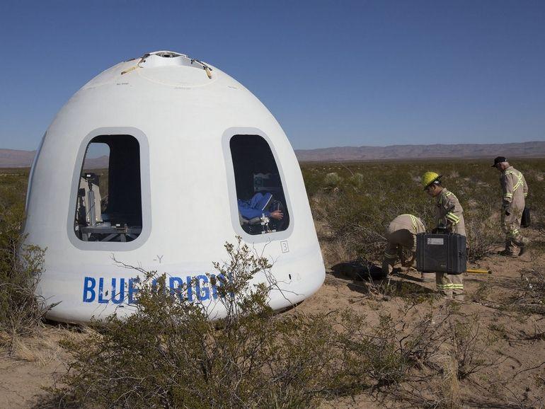 Comment suivre le prochain vol de New Shepard, le vaisseau de Jeff Bezos et Blue Origin