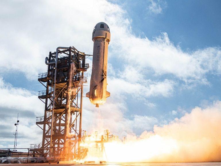 Vol spatial de Jeff Bezos avec Blue Origin : a quelle heure et comment suivre en direct le décollage