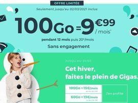 Forfait 100 Go à partir de 10 euros : RED by SFR ou Cdiscount, qui choisir ?