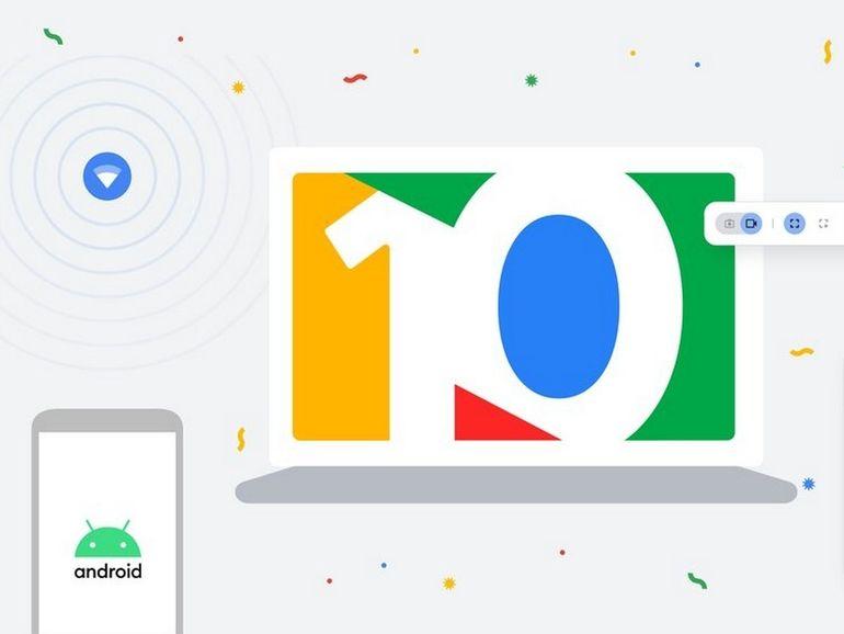 Chrome OS fête ses 10 ans avec une mise à jour riche en nouveautés