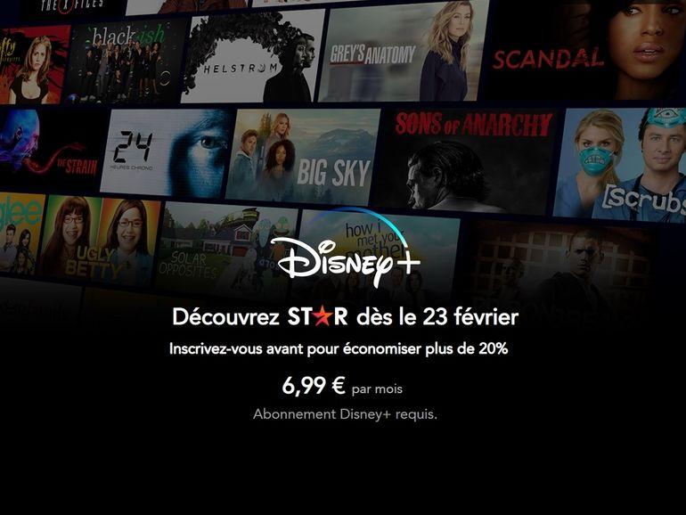 Disney+ avec Star : abonnez-vous avant le 23 février, après cette date le tarif augmente !