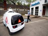 Les pizzas Domino's livrées par des voitures autonomes au Texas