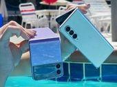 Samsung Galaxy Z Fold 3 et Galaxy Z Flip 3 : à quel point sont-ils résistants à l'eau ?