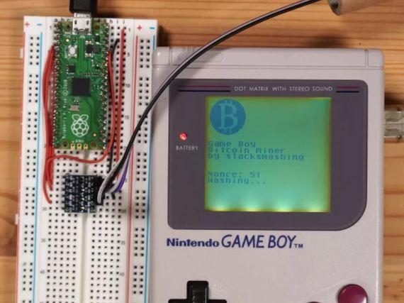 On peut miner du Bitcoin avec une Game Boy, mais il faut être (très) patient