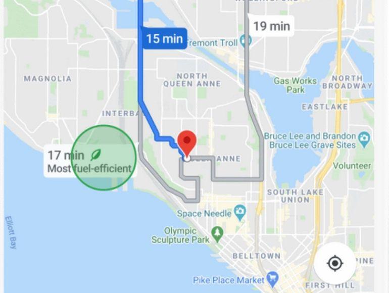 Google Maps enrichit la navigation en réalité augmentée Live View et propose des « éco-itinéraires »