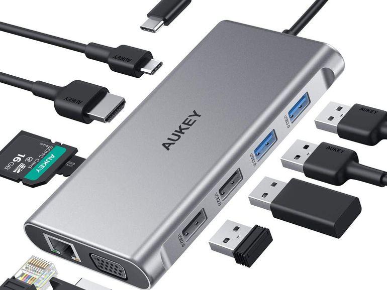 Bon plan : un Hub USB-C 10 en 1 Power Delivery et HDMI 4K à 27,99€