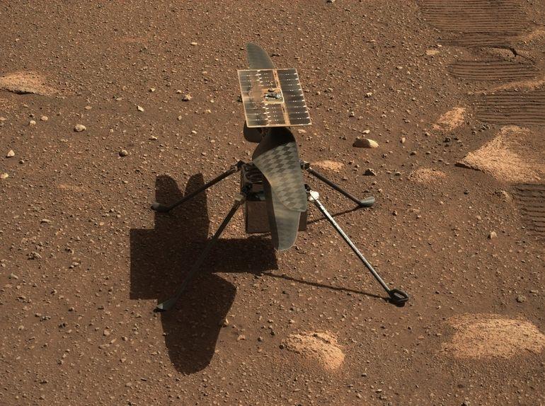 Tout savoir sur Ingenuity, l'hélicoptère de la Nasa qui explore Mars