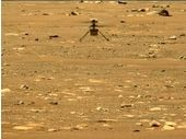 Découvrez la vidéo du deuxième vol d'Ingenuity, l'hélicoptère de la Nasa sur Mars