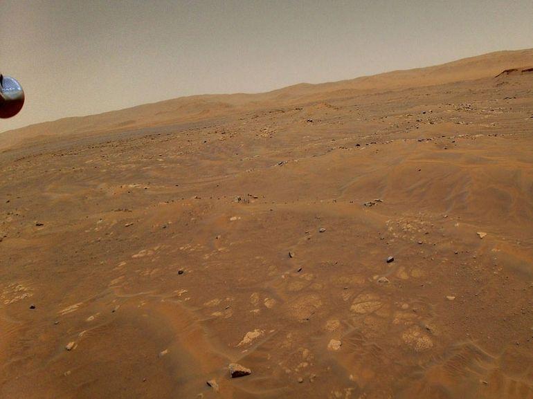 L'hélicoptère Ingenuity a survécu à une « anomalie en vol » lors de son sixième vol sur Mars