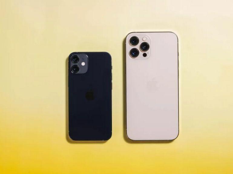 Apple aurait stoppé la production de l'iPhone 12 mini
