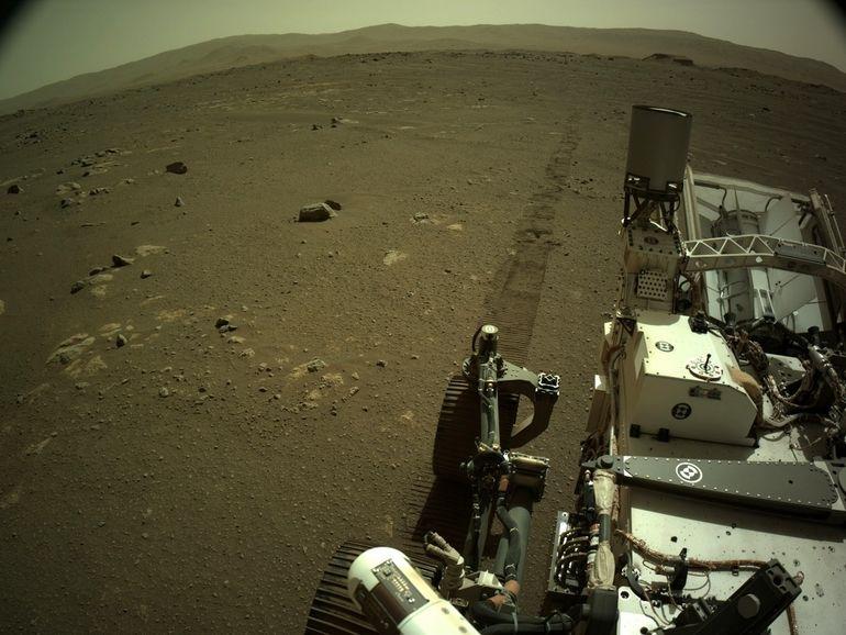 Ecoutez Perserverance, le rover de la Nasa, rouler sur Mars