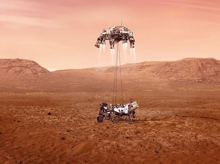 Atterrissage réussi pour Perseverance, le rover de la Nasa envoie ses premières images de Mars