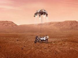 Mars : le robot Perseverance va collecter ses premières roches martiennes